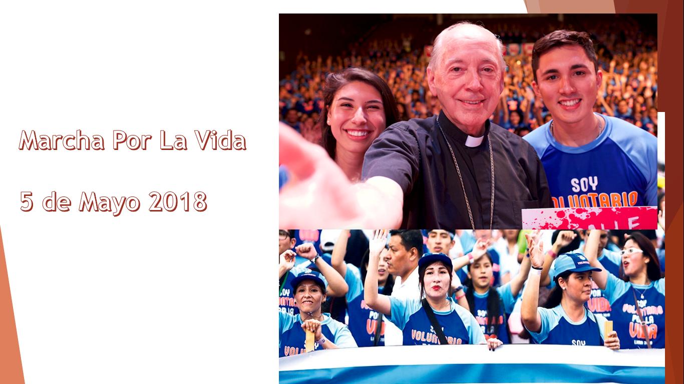 """Colegios Públicos promoviendo """"Marcha por la vida"""" ¿Y el Estado Laico?"""